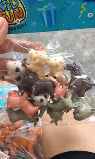 BNIP Animal figurines