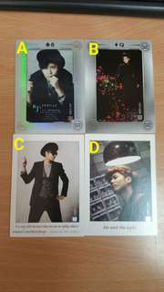 SS501 金圭鍾 collection card