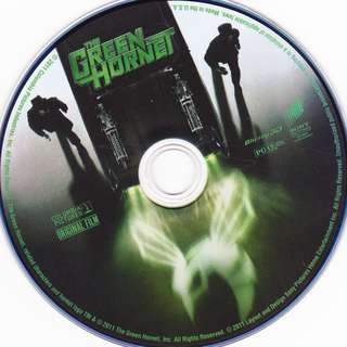 Preowned DVD movie disc The Green Hornet *Disc Only No Case or Covers*