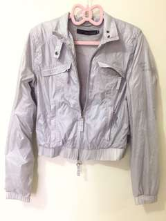 ORIG Calvin Klein grey windbreaker / jacket / sweater