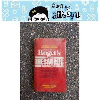 Roget'S College Thesaurus
