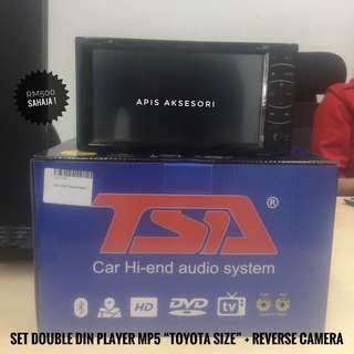 "Promosi Double Din ""Toyota Size"" MP5 Player TERBARU"