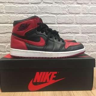 814658722bbf Nike Air Jordan 1 Bred 2013