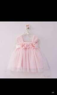 Baby girl princess dress-12m