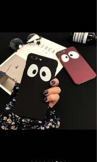 Big Eyes Black iPhone Case