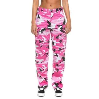 Culture kings pink camo pants