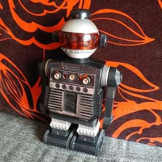 中古收藏 機械人原子粒收音機 澳門製造 Radio Robot STAR COMMAND