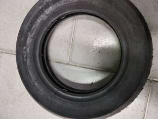 CST Tyre with tube 10 X 2.50