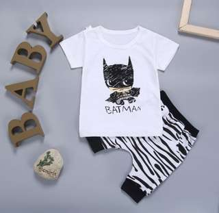 *In stock* Batman Top & Pants Set