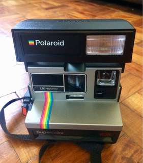 Vintage Polaroid Supercolor 635 camera
