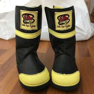 Little Fireman's Rain/ winter Boots