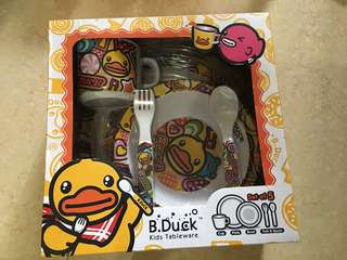 B duck 餐具套裝