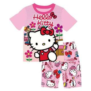 INSTOCK Hello Kitty tshirt set