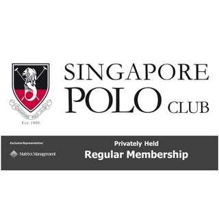 Singapore Polo Club Regular Membership - New Listing