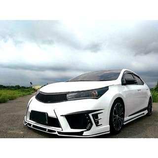 2014 豐田 ALTIS 白 改 JGTC 套件