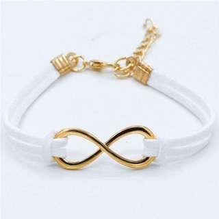 Cloud Infinity Bracelet