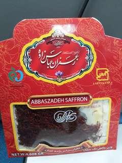 Saffron (Zaffron) 4.608 grams