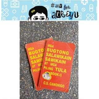 Mga Bugtong Salawikain Sawikain at Mga Piling Tula by C.S. Canonigo - TRIVIA BOOK