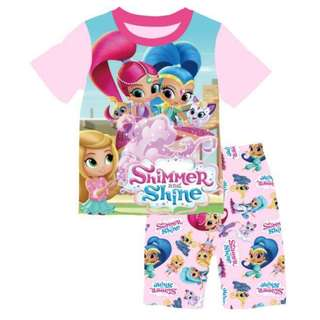 INSTOCK Shimmer and Shine tee set