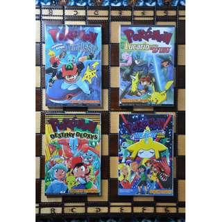 Pokemon Movie Comics