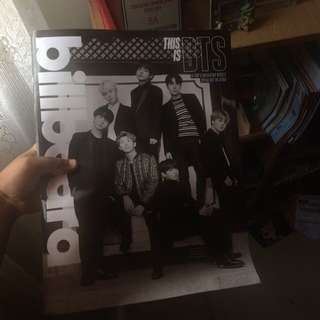 WTS BTS BILLBOARD MAG GROUP VER