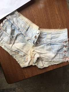 Denim shorts for only 120!