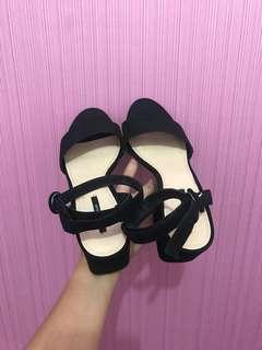 Pull & Bear Black Heels Sandal Simple