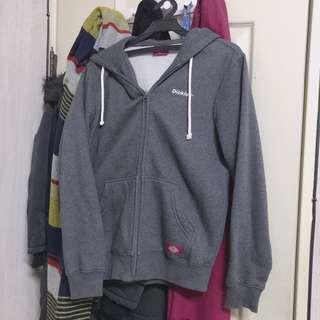 韓國Dickies 鐵灰色刷毛外套