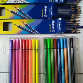2B Pencil Examination & Color Pen
