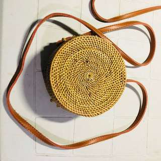 #9 ON HAND Rattan Bag (SMALL) fresh from Bali, Indonesia
