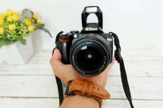 kamera DSLR Nikon D40 + Lensa kit 18-55 Murah Meriah