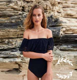 off shoulder swimwear