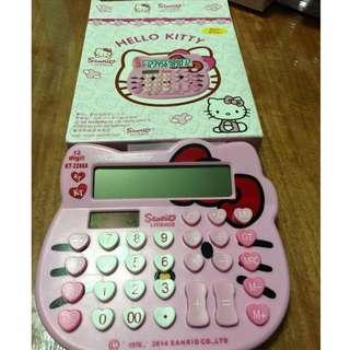 hello kitty head calculator