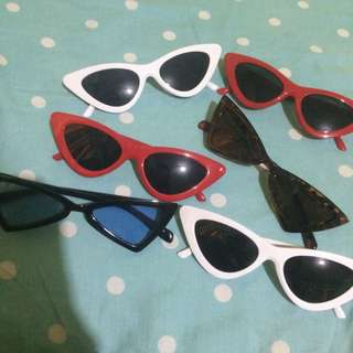 FREE ONGKIR NEW!!! sunglasses cat eye small sunglasses  buy 1 60k buy 2 110k