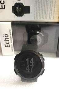 不需要叉電的藍牙手錶 Magellan Echo Bluetooth Watch (black) full box set