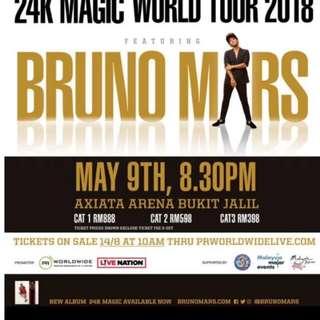 24K MAGIC WORLD TOUR 2018 FEATURING BRUNO MARS