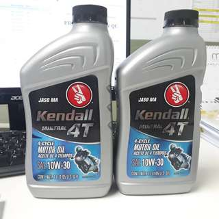 Kendall 10W-30 4T engine oil