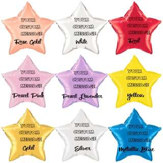"""20"""" Personalised Star"""