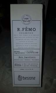🚚 Besone R femo anti hair loss shampoo with caffeine free shipping 400ml