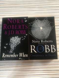 Nora Roberts - Conspiracy in Death & Remember When