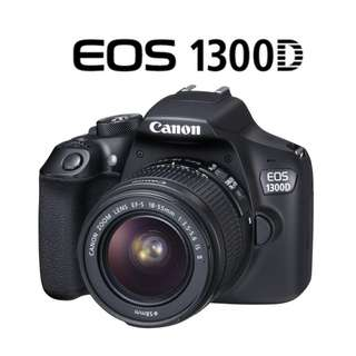 🛒NEW Canon EOS 1300D DSLR Camera With 18-55mm Lens
