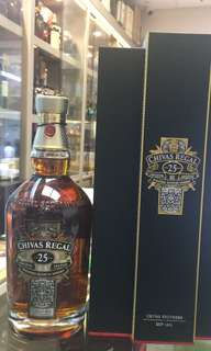 Chivas regal 芝華士25年