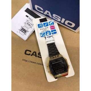 OEM Casio Gold & Black Watch