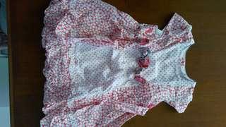 Dress cantik baby girl anak perempuan