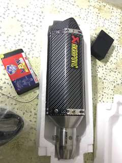 Akrapovic Copy CF