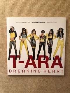 T-ARA Breaking Heart First Album