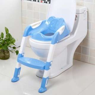 [PO334]AIO Foldable Children Potty Seat With Ladder Cover