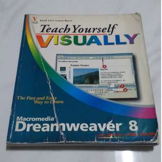 Teach Yourself VISUALLY Macromedia Dreamweaver 8 (by Janine Warner)