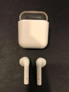 Brand New (BN) True Wireless Stereo Bluetooth Earphones Car Earpiece (Apple Airpods inspired) TWS F10