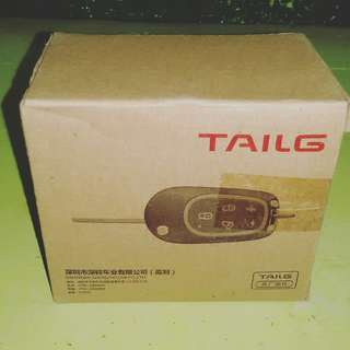 TAILG ALARM WITH REMOTE